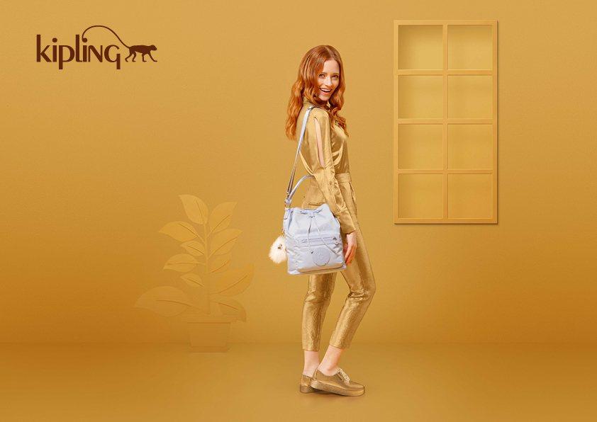 KIPLING推出專為亞洲設計限定水桶包款。KIPLING/提供