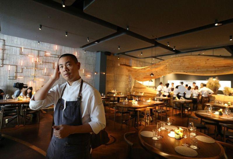 2017前300名最佳主廚出爐 江振誠排名第14