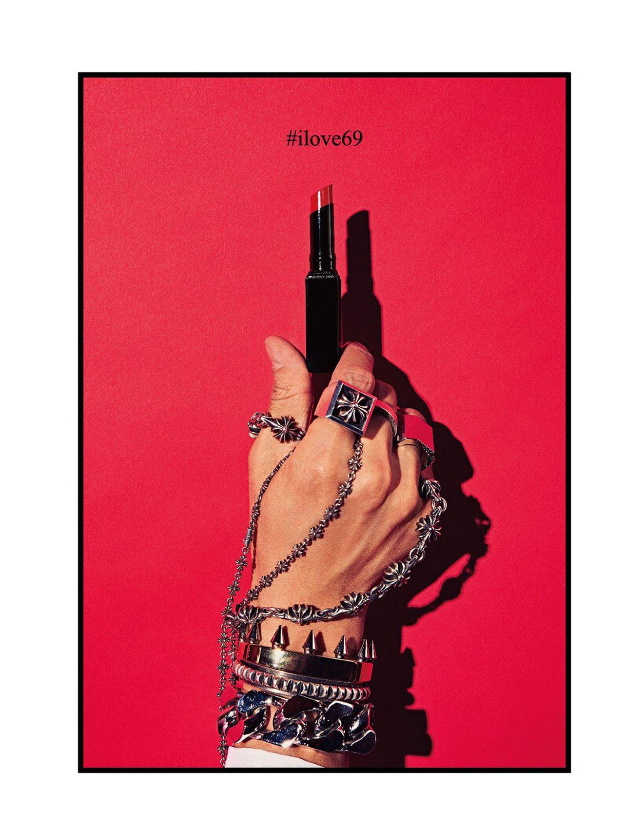KAI DELUXE瑰蜜持色亮彩唇膏Sex #69限制級紅唇,一推出就成為榜上有...
