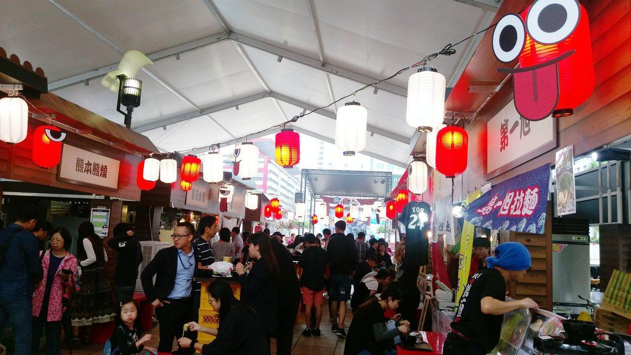 新光三越台北信義店A11舉辦的日本展,今年在四樓擴大第二展場,推出充滿日本庶民風...