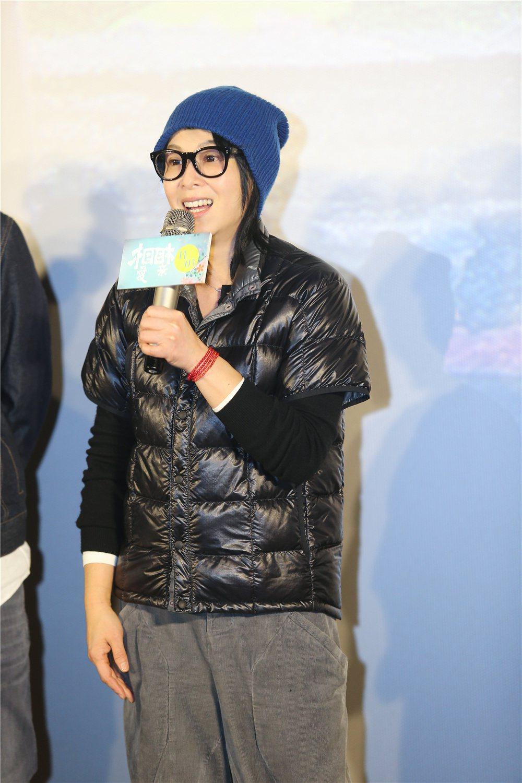 劉若英驚喜出席「相愛相親」北京記者會,力挺恩師張艾嘉。圖/甲上提供