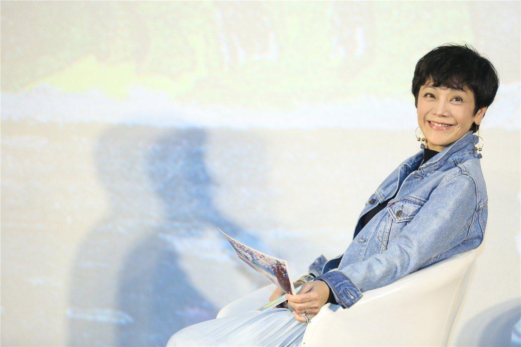 張艾嘉自導自演的「相愛相親」獲驚人好評,26日出席電影北京記者會。圖/甲上提供
