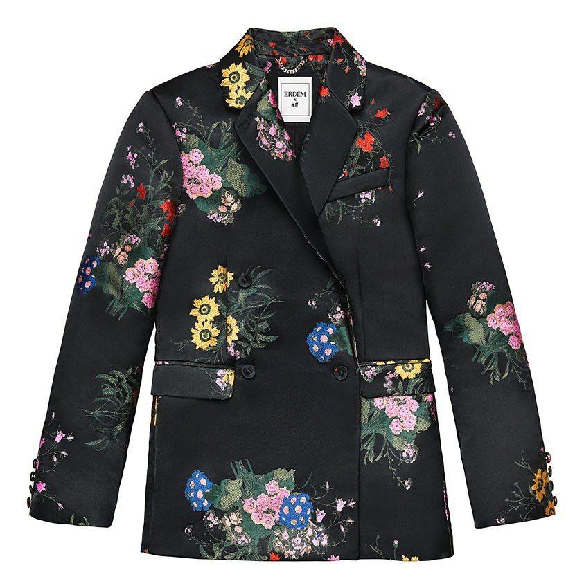 ERDEM x H&M系列女裝,5,999元。圖/H&M提供