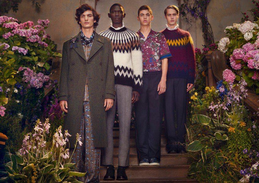 一向設計女裝的Erdem,首度在ERDEM X H&M推出以他或父親的衣櫥為靈感...