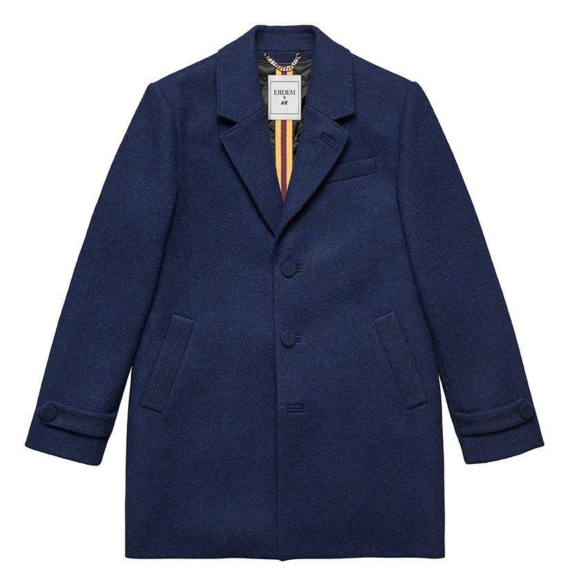ERDEM x H&M系列男裝,6,999元。圖/H&M提供