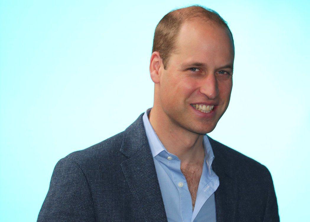 英國威廉王子是禿頭帥哥的代表。圖/路透資料照片