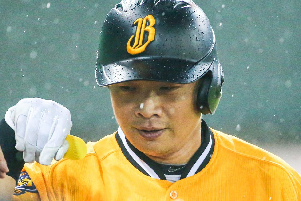 總冠軍賽首戰,兄弟老將彭政閔重回先發,擔任一壘手、打第7棒。 聯合報系資料照