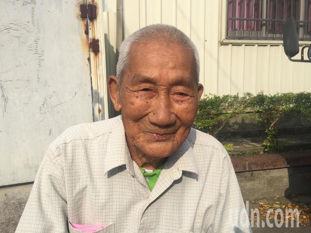 93歲陳六一能念完千金譜。記者吳政修/攝影