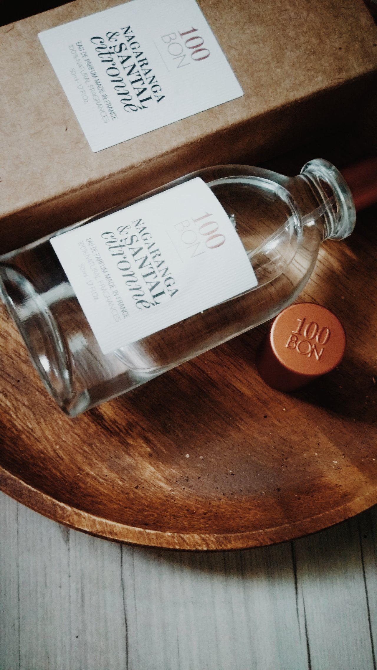 目前最鍾愛的香水,100BON甜橙檀香淡香精。圖/江佩君攝影