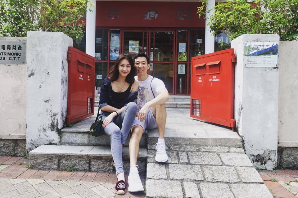 隋棠和老公Tony日前赴澳門旅遊,夫妻倆一路甜蜜放閃。圖/摘自隋棠臉書