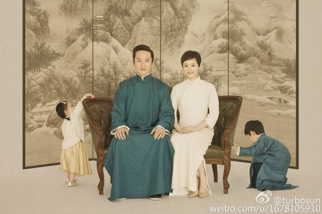 孫儷與鄧超結婚7年,育有一對兒女。圖/摘自孫儷微博