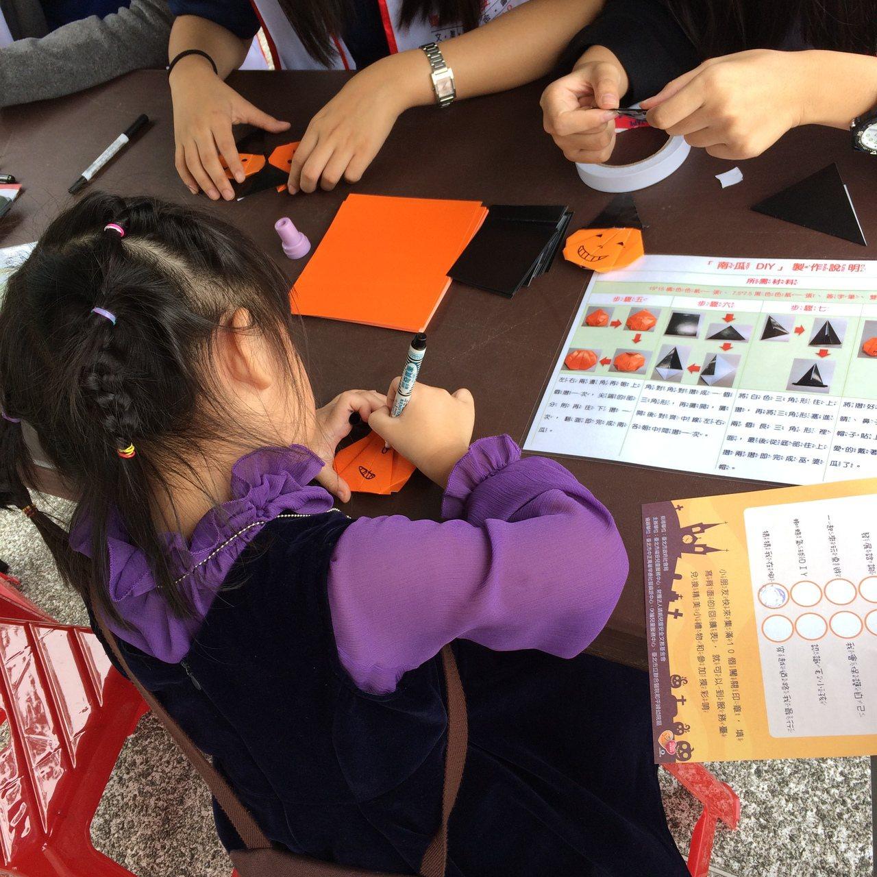 靖娟兒童安全文教基金會福安兒童服務中心,於今天舉辦萬聖節同歡活動,讓大小朋友一起...