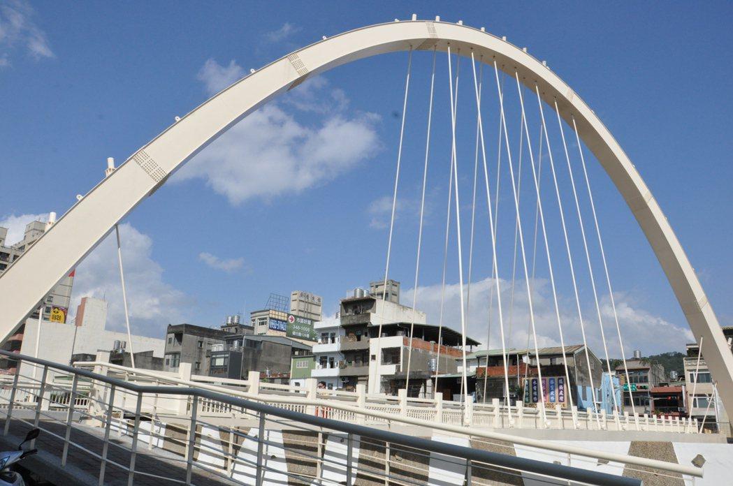 桃園區南通橋過去易有洪水溢堤危機,去年底展開重建,由於南通橋音近「難通」,地方人...