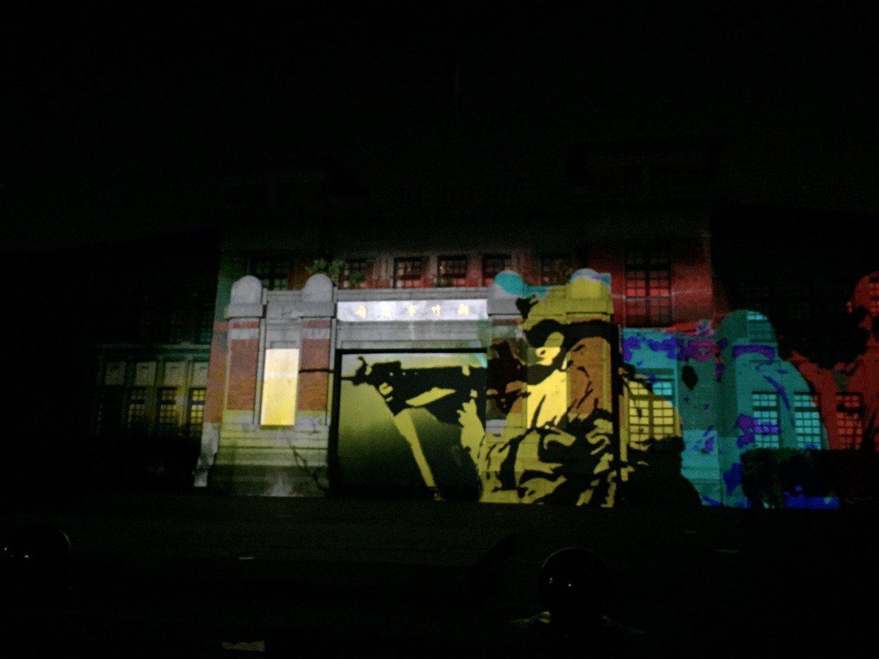 新竹市政府將舉辦新竹州廳啟用90周年系列活動,光雕投影穿越歷史軌道,搭配二戰飛機...