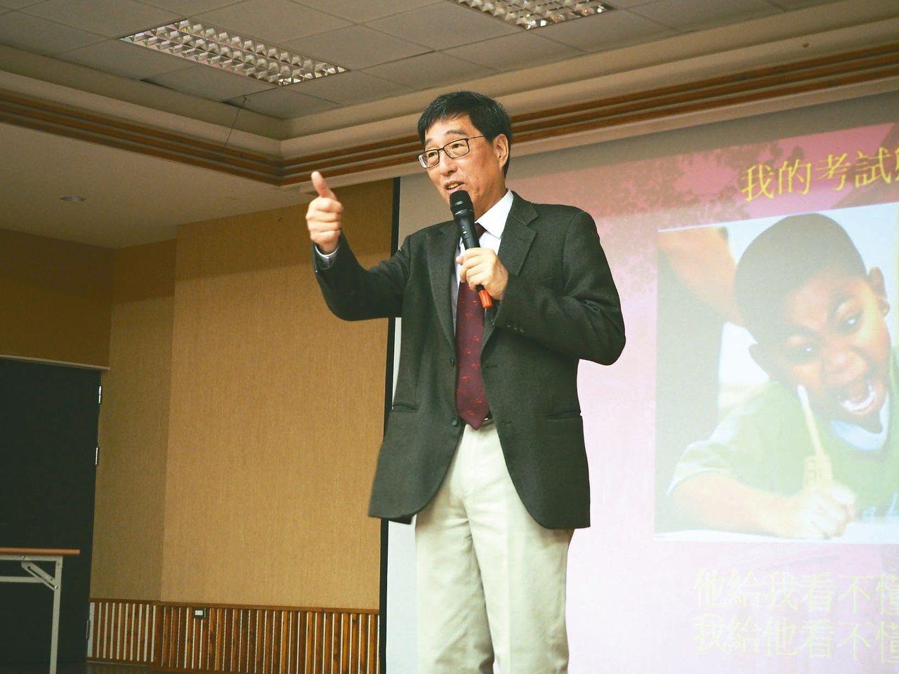 香港城市大學校長郭位。 記者喻文玟/攝影