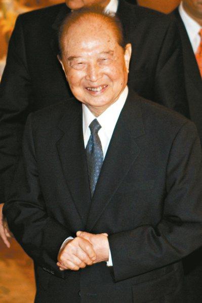 今年是汪道涵發表「現在進行式的一個中國」二十周年。 本報資料照片