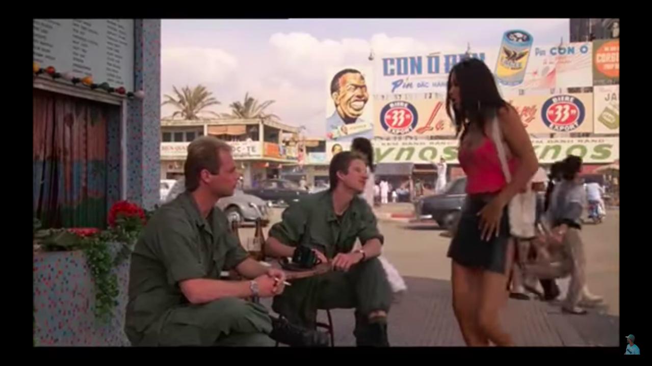 1987年描述越戰的電影「金甲部隊」(Full Metal Jacket),主角...