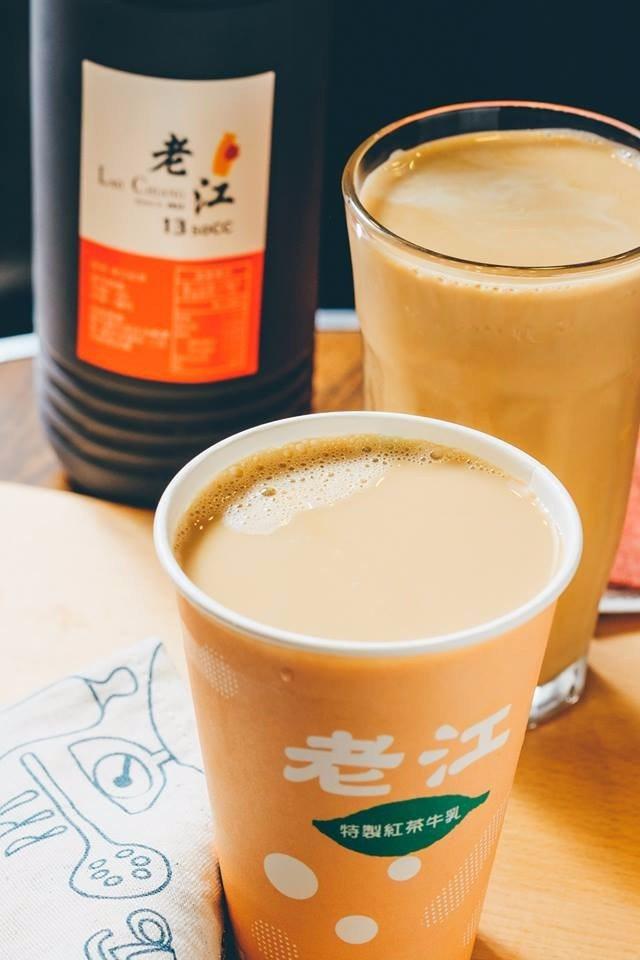 香濃順口的老江紅茶牛奶,也是店內必點招牌飲品之一。(圖片來源/老江紅茶牛奶FB粉...