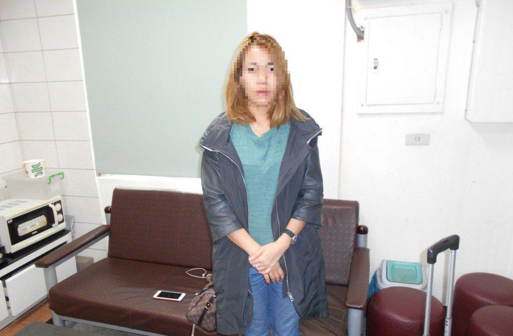 泰國籍女子運用台灣免簽,假觀光真賣淫。記者曹馥年/翻攝