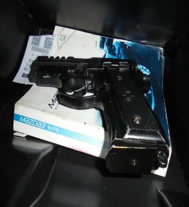 彭男辯稱改造槍枝是友人寄放。圖/警方提供