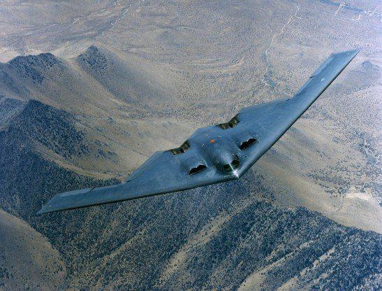 B2隱形轟炸機。路透
