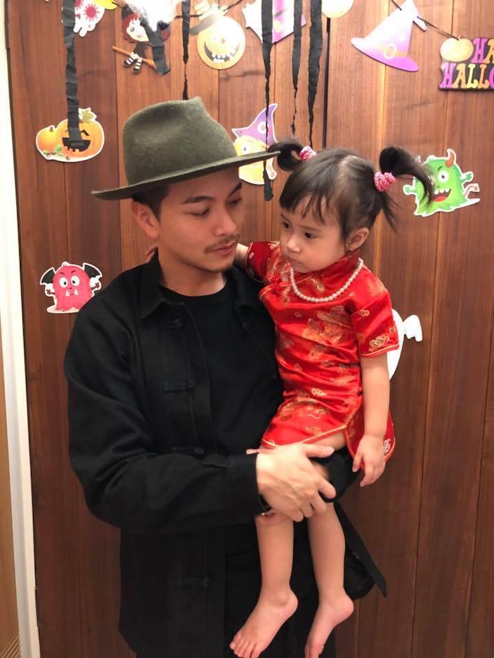 方志友稱老公楊銘威(左)和Mia本是上演「那年花開月正圓」。圖/摘自臉書