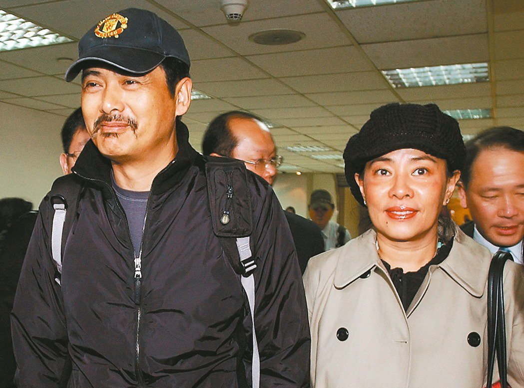 周潤發(左)與陳薈蓮夫妻恩愛30年。 本報資料照片