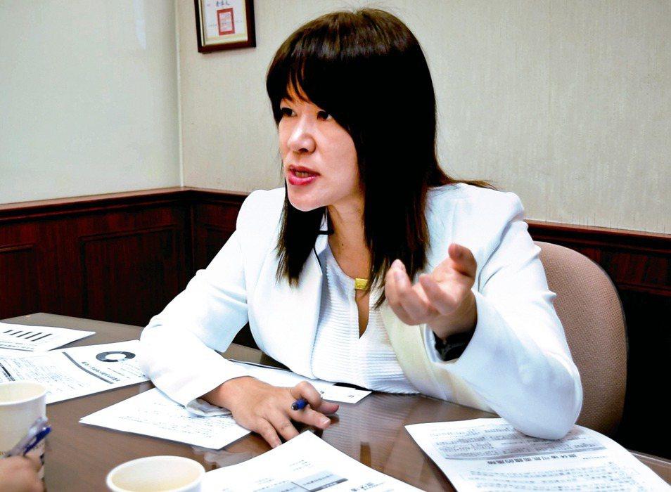 富蘭克林證券投顧研究部副總經理羅尤美。 記者張心慈/攝影