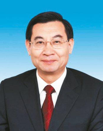 新任陝西省委書記胡和平。 新華社