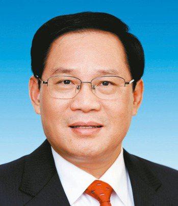 新任上海市委書記李強。 新華社