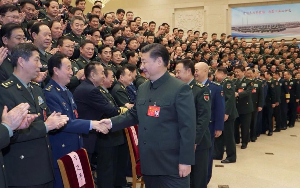 中國軍委主席習近平,10月26日下午出席了在北京召開的軍隊領導幹部會議並發表重要...