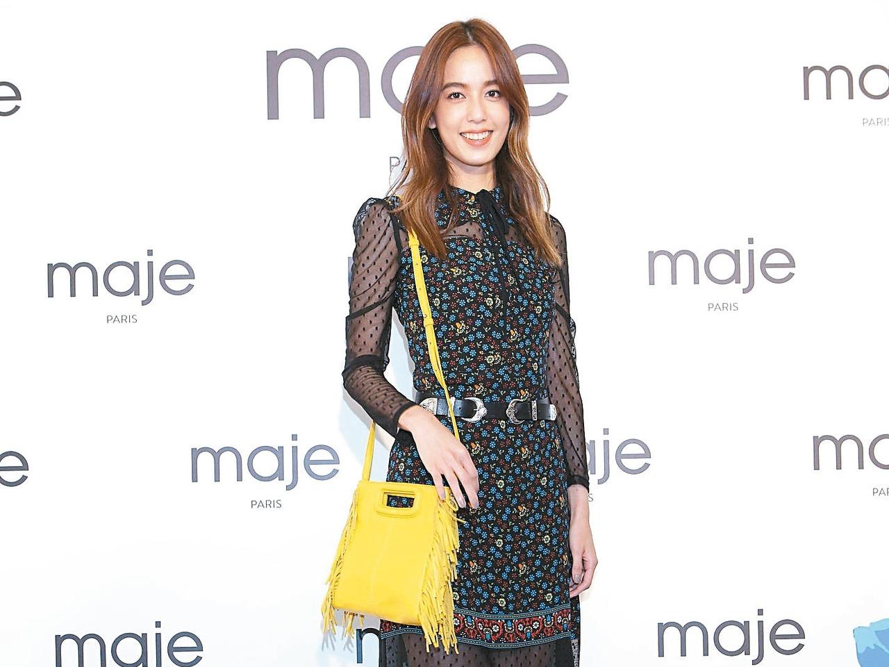 巴黎時尚輕奢品牌maje登台,是今年秋冬的時尚大事。 maje/提供