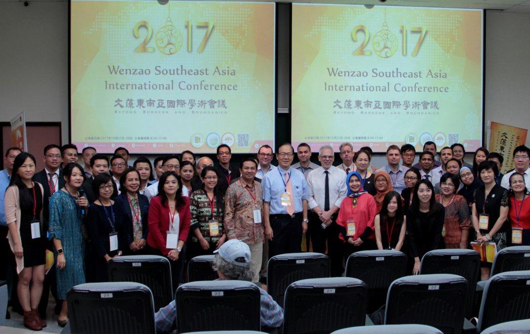 文藻外語大學10月27至28日舉辦首屆「東南亞國際學術研討會」,來自全球17個國...