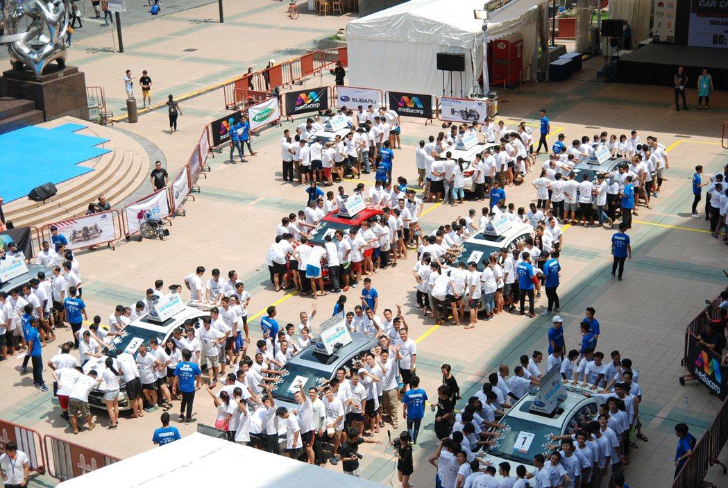 Subaru 「2017 Palm Challenge 堅手到底 」活動於新加坡...