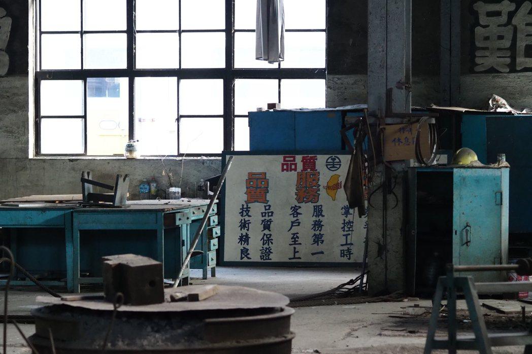 臺北機廠一景。