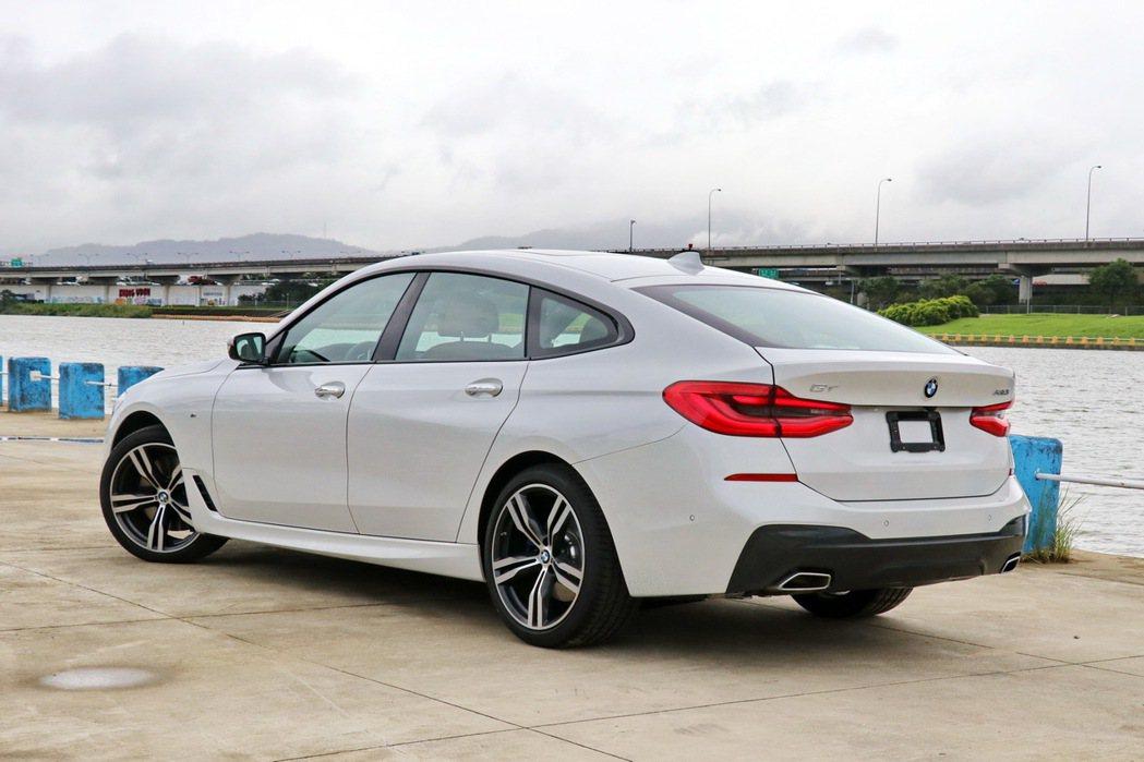 優雅美型的BMW 630i Gran Turismo。 記者陳威任/攝影