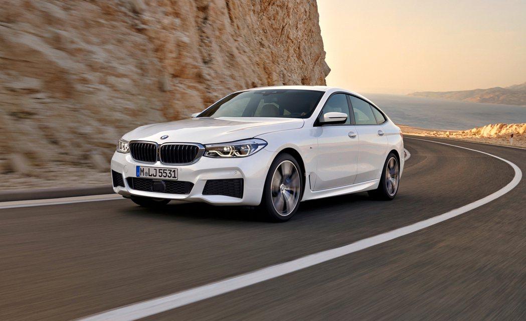 BMW 6 Series Gran Turismo的動力表現給人游刃有餘的感受。...