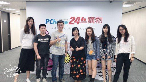 商務系師生與Pi付營運長韓昆舉合影。 中國科大/提供