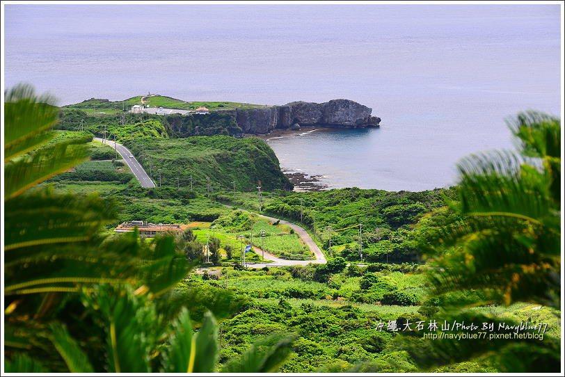 ↑步道中面北處展望佳,可以遠望沖繩最北端邊戶岬。