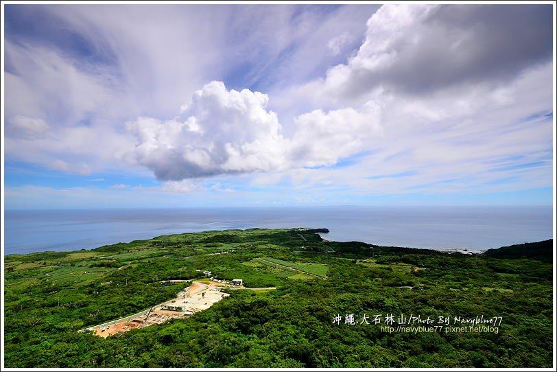 ↑由美麗海展望台望出,無敵的海景讓人無比舒坦振奮,原來能量都是這樣來的。