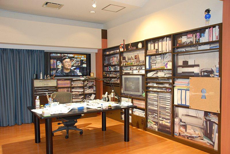 館內還原青山剛昌的工作室,公開漫畫家的創作秘密!