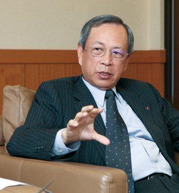明台產險總經理曾武仁帶領公司邁向永續經營。 (攝影/徐裕庭)