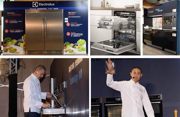 江主廚正在使用「真空保鮮」專業氣壓真空包裝機,有效降低食物氧化速度並讓食材凍齡,...