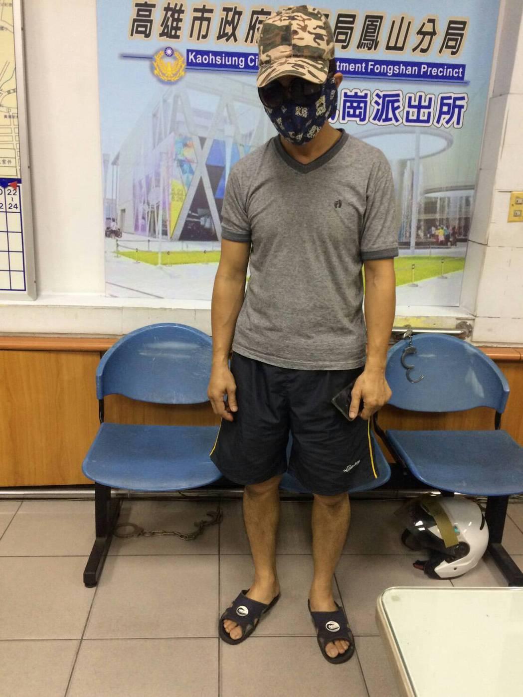 鳳崗派出所依車輛查獲涉案的劉男,依竊盜未遂罪函送法辦。記者林伯驊/翻攝