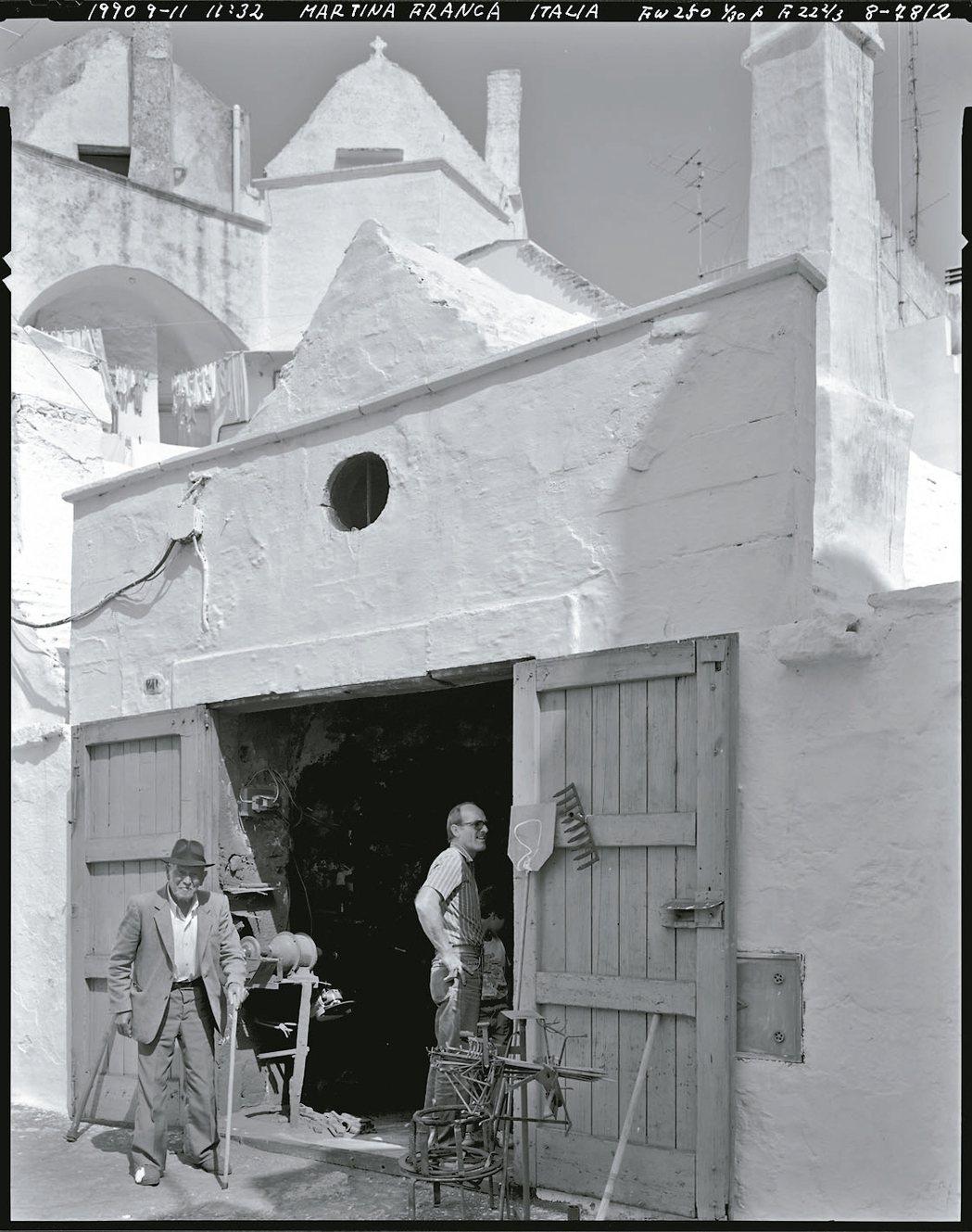 日本攝影家原直久(Naohisa Hara)1990年攝於義大利。 張蒼松˙圖片...