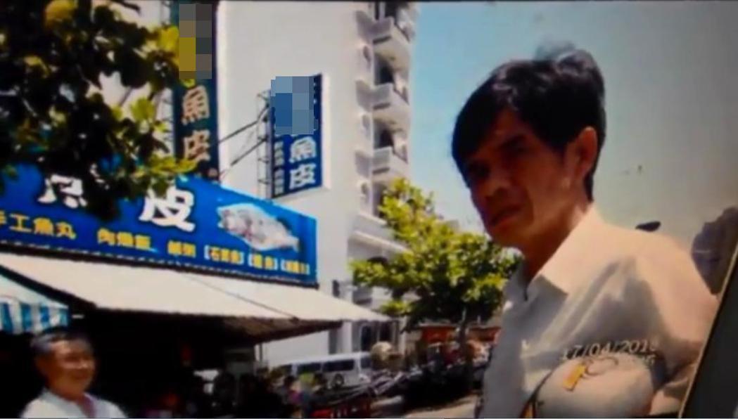 台南市議員李文正曾當街飆罵警員,被依妨害公務罪嫌起訴。 圖/翻攝畫面