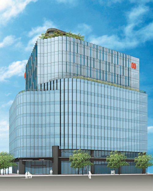長虹建設昨(30)日公告,台北市內湖區「長虹新世紀企業總部」整棟廠辦大樓以64....