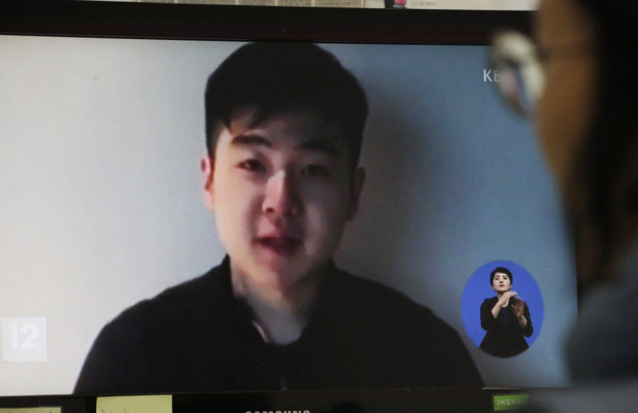 北韓領導人金正恩之侄金韓松。歐新社