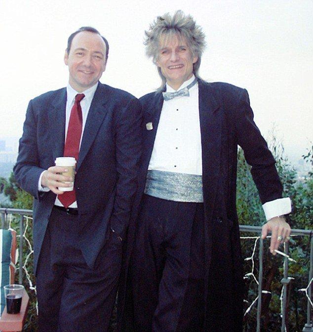 凱文史貝西與哥哥佛勒(右)。圖/擷自「Daily Mail 每日郵報」