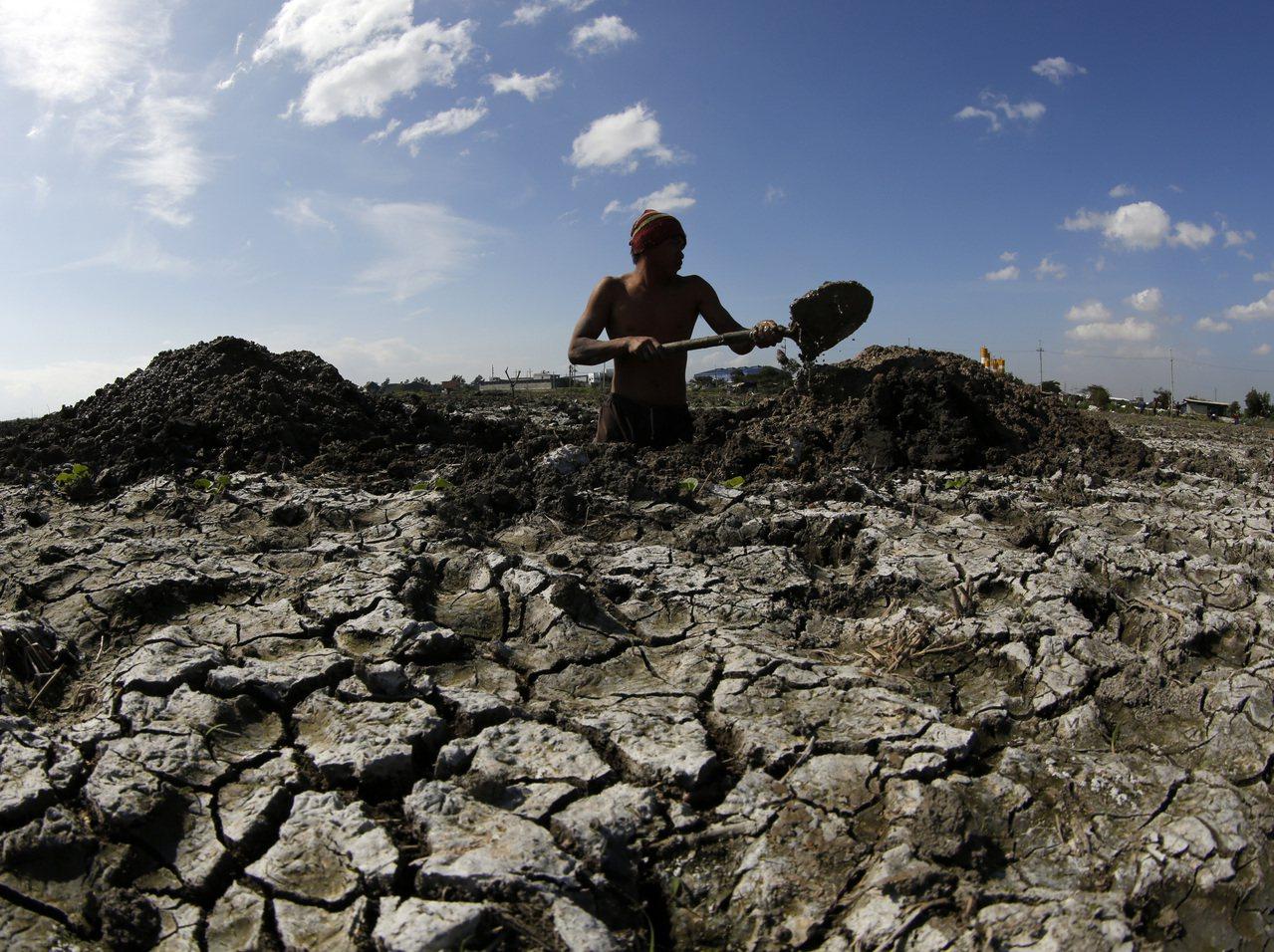 研究指出,極端天氣現象之所以發生,純粹是因為人類活動導致地球暖化所造成。圖為菲律...